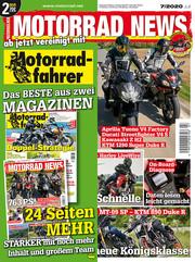 MOTORRAD NEWS aktuelle Ausgabe
