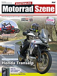 »MotorradSzene« aktuelle Ausgabe